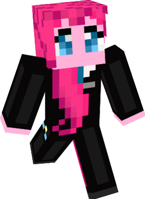 Pinkie Pie from MLP My Little Pony in a suit friendship is magic!