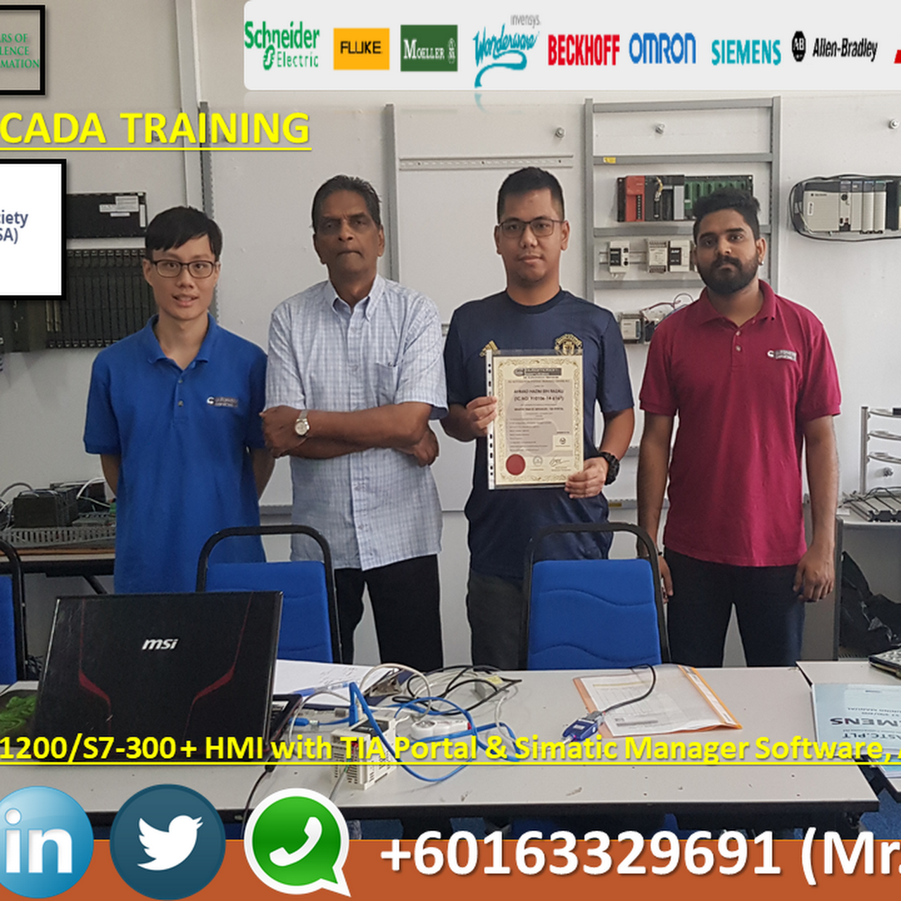 PLC Training Centre Malaysia - SCADA , PLC AND HMI TRAINING