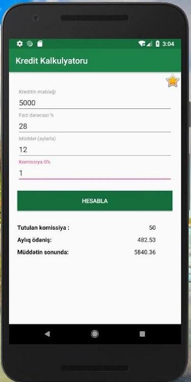 Kredit Kalkulyatoru Android Prilozheniya Appagg