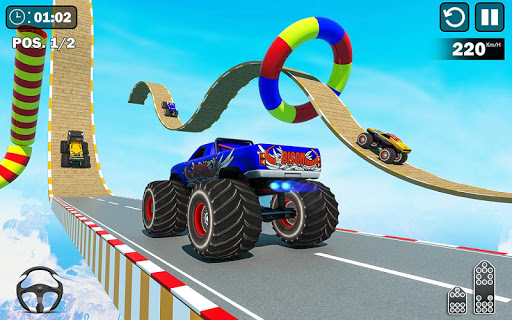 Insane GT Stunts : Mega Ramp Games screenshots 3