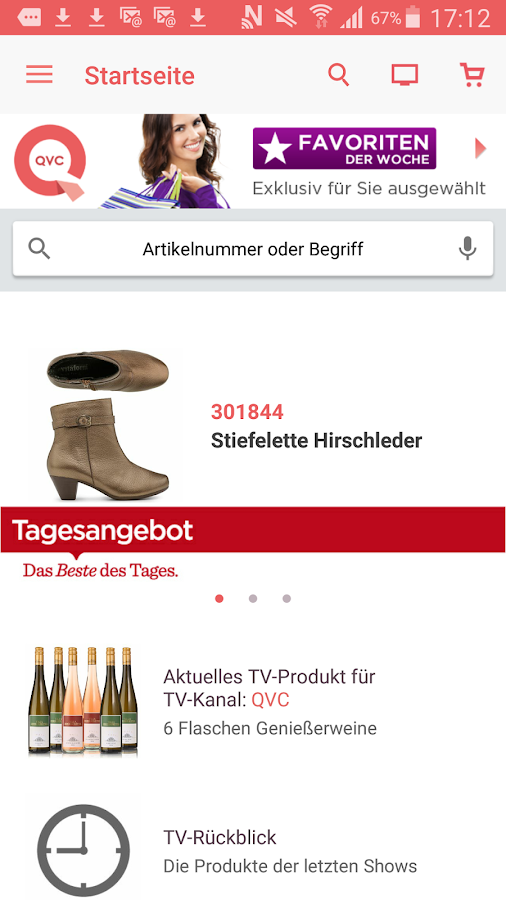 qvc deutschland android apps auf google play. Black Bedroom Furniture Sets. Home Design Ideas
