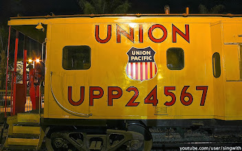 Photo: Union Pacific 3105 at Metrolink Covina Station