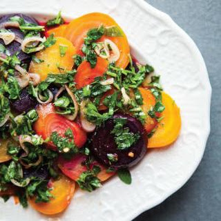 Roasted Beets With Chimichurri