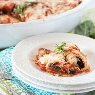 Rolled Eggplant Lasagna
