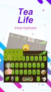 Tea Life Theme&Emoji Keyboard - náhled