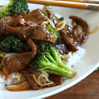 Chinese Beef and Broccoli.