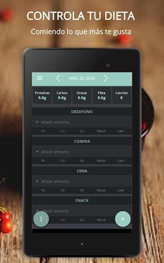 Contador de Calorías Fitmacro screenshot 9