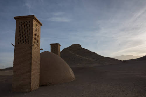 Things to Do in Iran Travel Guide Itinerary // Towers of Silence in Yazd