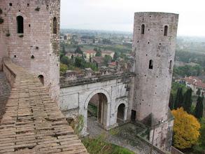 """Photo: Roman towers, Spello """"Very vecchio"""""""