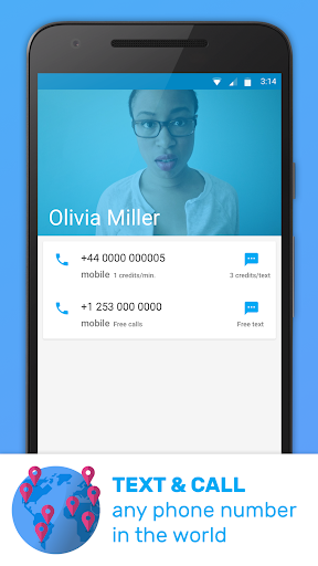 Text Me - Free Texting & Calls Screenshot