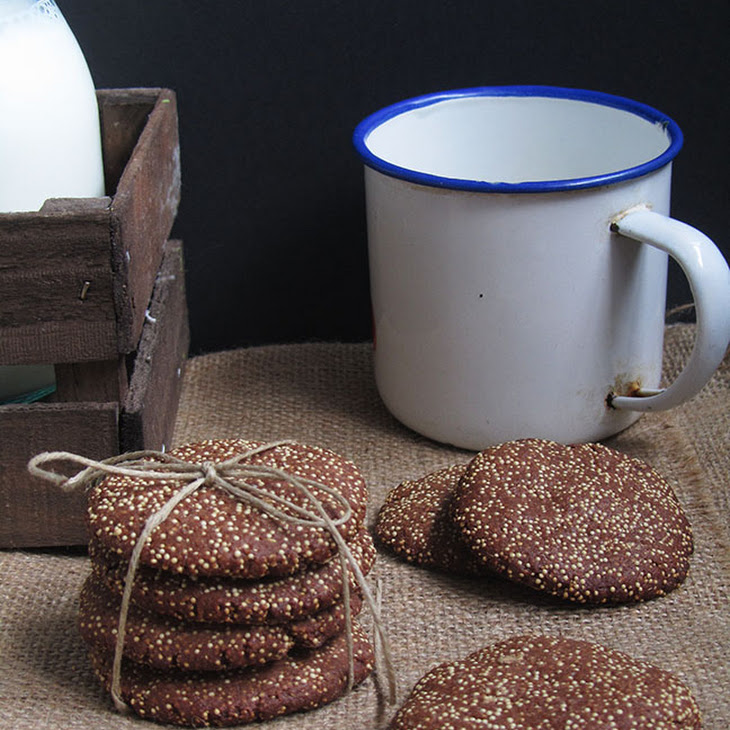 Cocoa and Amaranth Cookies Recipe