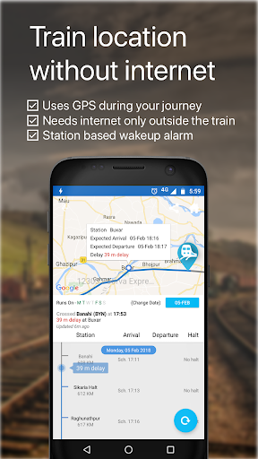 Live Train IRCTC PNR Status & Indian Rail Info by Go Finger (Google