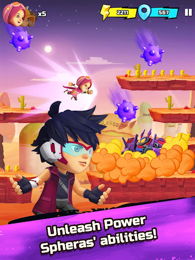 BoBoiBoy Galaxy Run: Fight Aliens to Defend Earth! 1.0.5d screenshots 9