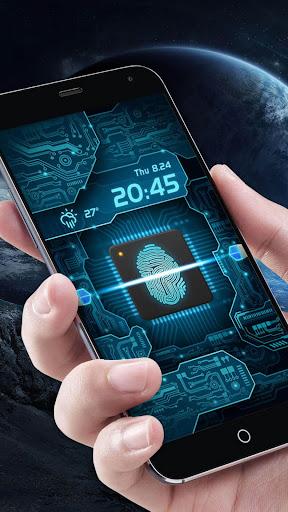 Fingerprint Scanner to Unlock Phone Prank  screenshots 3