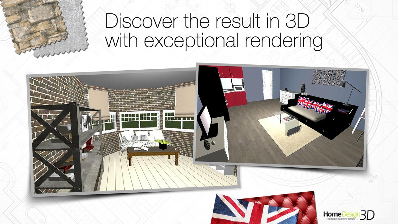 Home design 3d freemium screenshot
