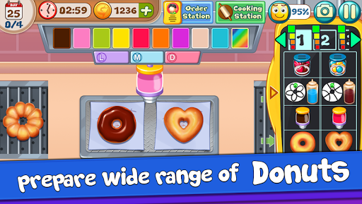 Donut Truck - Cafe Kitchen Cooking Games filehippodl screenshot 3