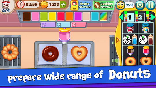 Donut Truck – Cafe Kitchen Cooking Games 1.1.9 Android Mod APK 3