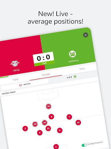 BUNDESLIGA - Official App 3.9.1 screenshots 19