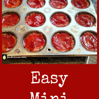 Easy Mini Meatloaves.
