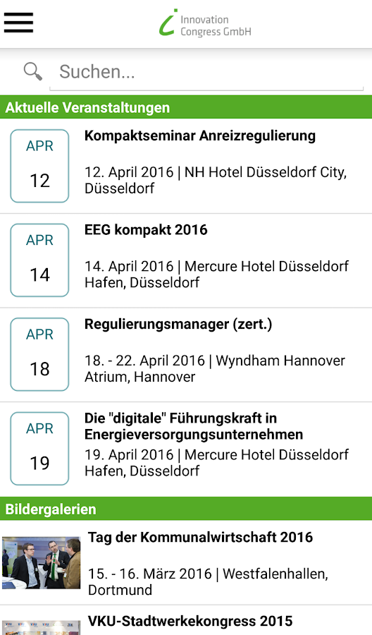 ICG - Innovation Congress GmbH- screenshot