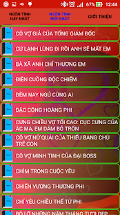 Truyen Ngon Tinh Hanh Phuc - Offline (No 3G, Wifi) - náhled