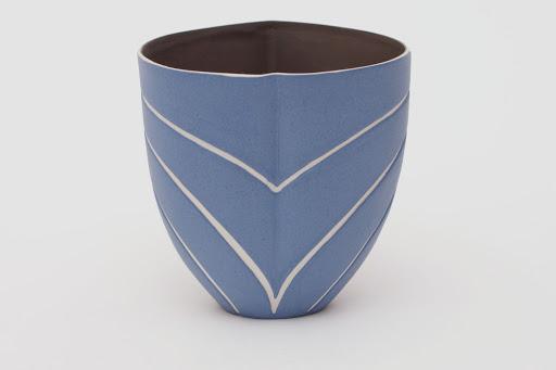 Penny Fowler Ceramic Blue Vessel 01