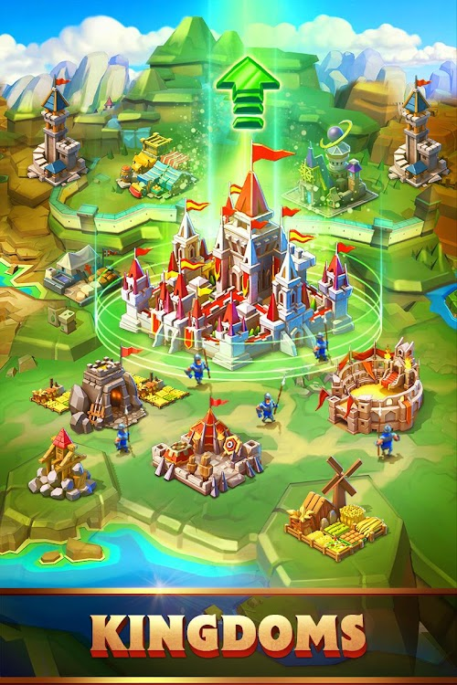 Screenshot 2 Lords Mobile: Battle of the Empires - Strategy RPG 1.84 APK+DATA MOD