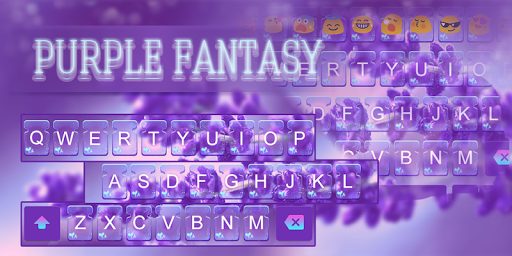 Purple Fantasy-Emoji Keyboard