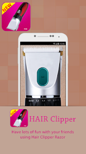 Real Hair Clipper Prank screenshot