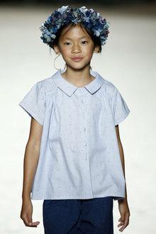 défilé mode enfant Condor look chic fille