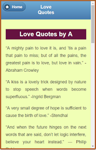 Wonderful Love Quotes - náhled