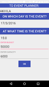 Your Event Planner screenshot 3