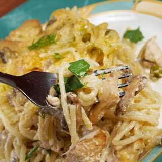 Four Cheese Tetrazzini