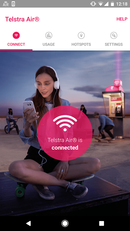 Telstra Air- screenshot