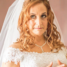 Annoyed Bride by Christopher van Heerden - Wedding Bride