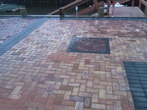 Photo: Brick patio Baldwin Harbor NY