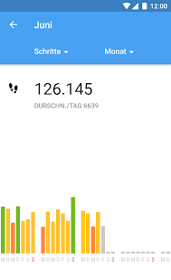 Runtastic Me Aktivitätstracker Screenshot