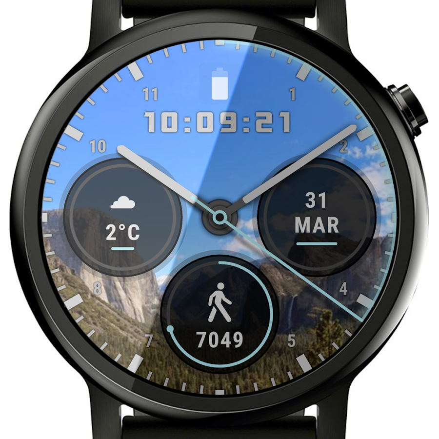 Ksana Sweep Watch Face for Android Wear- screenshot