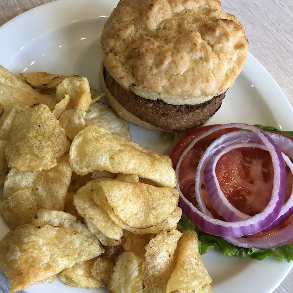Biscuit burger (beyond burger patty)