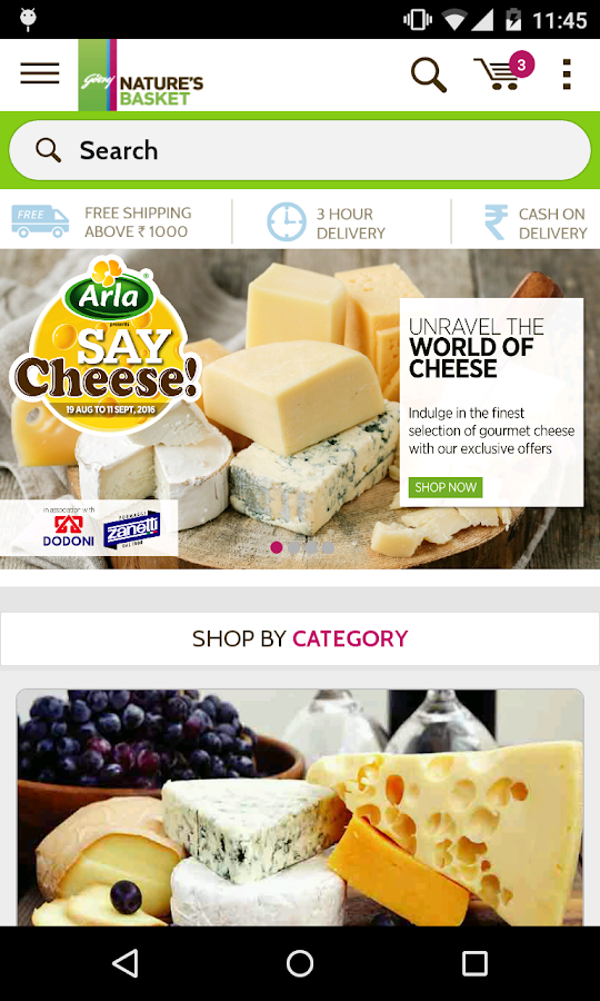 Nature's Basket Online Grocery- screenshot