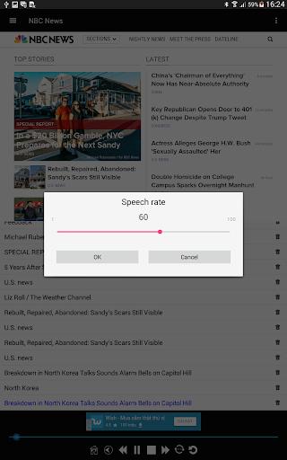 News Voice Reader 10.8.3 Screenshots 15