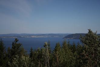 Photo: Первое море, которое мы увидели по дороге.