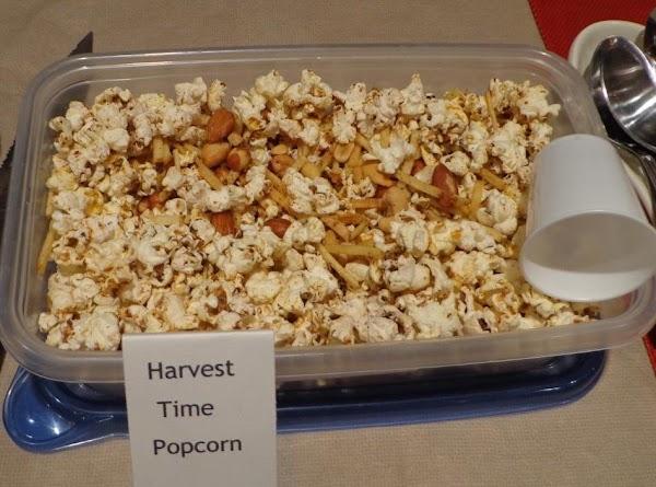 Harvest Time Popcorn Recipe