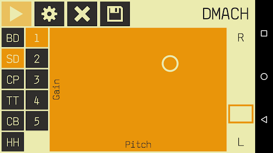 DMach - Drum Machine- screenshot thumbnail