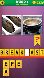 2 Pics 1 Word: Mix Pics Puzzle App Latest Version Download For Android and iPhone 4