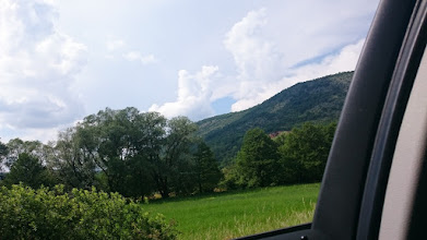 Photo: ... on the road to bratislava (the shorter south stream is mostly without highways)