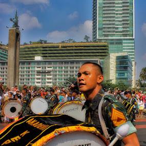 Military Parade by Reza Njaa - Professional People Military
