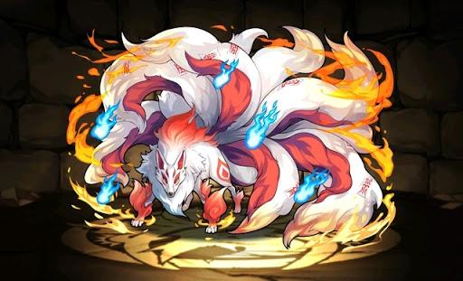 白炎狐・キュウビ