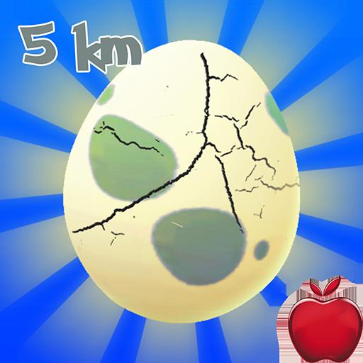 Egg Hatching Poke Gen 1 :  5 Km
