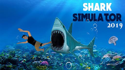 Hungry Shark Attack - Wild Shark Games 2019 screenshot 1